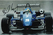 Bruno Senna Hand Signed Raikkonen Robertson Racing 9x6 Photo 4.