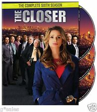 The Closer ~ Complete 6th Sixth Season 6 Six ~ BRAND NEW DVD SET
