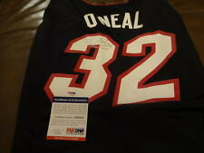 SHAQUILLE  O,NEAL  MIAMI  HEAT  5XL  JERSEY SIGNED AUTOGRAPHED PSA Z69888