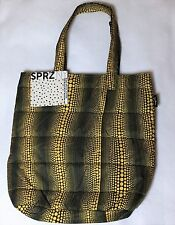 NEW YAYOI KUSAMA Padded Tote Bag Polka Dot UNIQLO Japan Auth Yellow black F/S