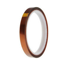 10mm 100ft BGA High Temperature Heat Resistant Polyimide Gold Kapton Tape