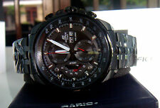 Casio 558bk 1av Full Black Dial Chronograph Watch For Men