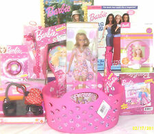 NEW BARBIE EASTER TOY GIFT BASKET BIRTHDAY CAKE DOLL PLAYSET CHRISTMAS GIFT