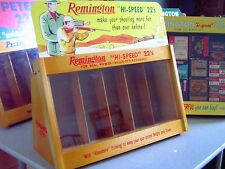 Remington and Peters merchandisers 22 ammo display case