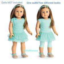 New American Girl Spring Breeze Dress Outfit 2 looks in 1 Clothes Accessory FREE