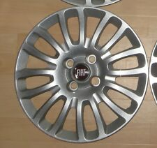 """4 Fiat tapacubos guardabarro frase Wheel cover stampo a 15"""" plata 735481016"""