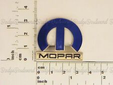Chrysler, Dogde, Valint, 300c Blue Mopar M Badge