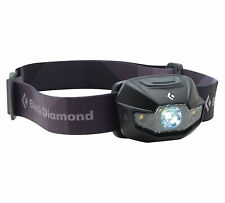 Black Diamond Spot LED Headlamp Head Lamp w Red Night Vision 3-AAA blk 130 lumen