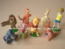 "New Full Set! ""Winnie the Pooh"" Tiny! 8 Figures Disney Choco Egg KAIYODO"