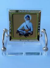 Shahid Baba Deep Singh Ji Photo Portrait Sikh  Desktop Chair Khalsa Stand A10