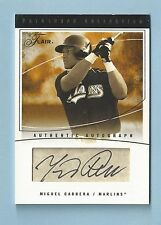 MIGUEL CABRERA 2004 FLAIR AUTOGRAPH COLLECTION SIGNATURE AUTOGRAPH AUTO /25