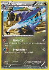 BW DRAGONS EXALTED POKEMON REVERSE HOLO CARD - GARCHOMP 90/124