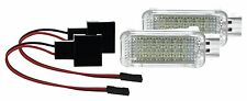 2 X LED SMD Modul Fußraumbeleuchtung Audi A4 auch Avant Allroad Cabrio WEIß