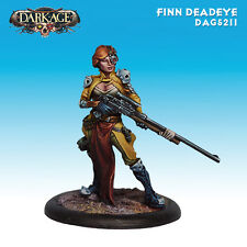 Dark Age Outcast Finn Deadeye miniature new