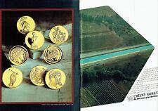 PUBLICITE ADVERTISING 027  1981   Crédit Agricole  banque (2p) canal de Provence