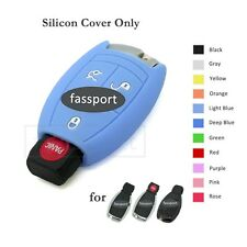 Silicone Cover Shell fit for MERCEDES BENZ Smart Remote Key Case 3 BTN 11 CLR LB