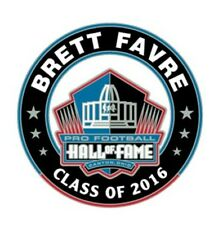 2016 Pro Football Hall of Fame Pin Brett Favre Green Bay Packers