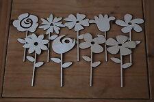 Set De 9 Piezas De cifra distinta de una pequeña flor hermosa decoración W10