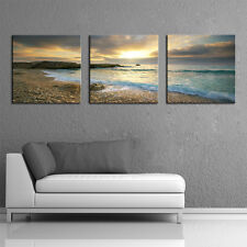 Not Framed Home Decor Wall Art HD Canvas Print Beach Seascape Picture Blue Sea