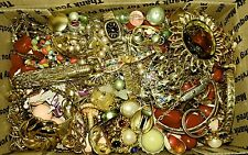 Vintage to now mixed Lot of Costume Jewelry. Untested, Unsearched.
