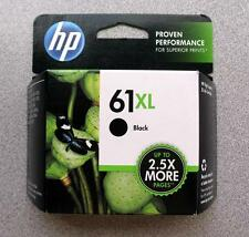 HP #61XL Black Ink Cartridge CH563W GENUINE NEW