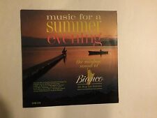 Gene Bianco ‎– Music For A Summer Evening - RCA Victor ‎– CSP-105 vinyl lp