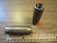 "Cast Copper 3/4"" Couplings for Copper Clad Sectional Ground Rods Direct Burial"