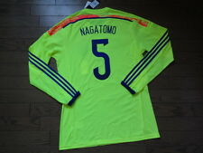 Japan #5 Nagatomo 100% Authentic Player Issue Soccer Jersey 2014/15 BNWT 2XO(L)