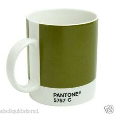 Whitbread Wilkinson Pantone Coffee Mug Olive Green 5757C