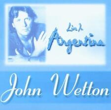 JOHN WETTON 2 CD LIVE IN ARGENTINA ASIA VGC