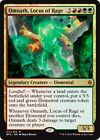 OMNATH, LOCUS OF RAGE Battle for Zendikar MTG Creature — Elemental Mythic Rare