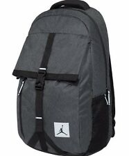 AIR JORDAN TAKEOFF Backpack / Travel Bag Reflective Black Heather Raw Denim