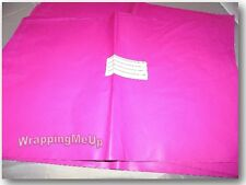 20 HOT PINK 9x12 Flat Poly Mailer Envelopes, Self Seal USPS Shipping