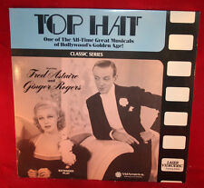 LASERDISC (I)  * TOP HAT * Fred Astaire Ginger Rogers Extended Play