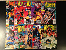 WOLVERINE COMIC LOT 1ST SERIES 10 ISSUES 111 112 114 117 118 119 120 121 122 123