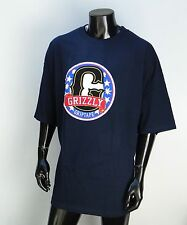 Grizzly Griptape X Supply Co. Stars G Navy Mens T shirt Size Xlarge