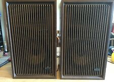Vintage Pair Of Kenwood Trio KL-3090 2 Way Speaker RARE