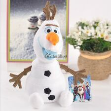 9'' Frozen Olaf the Snowman Soft Stuffed Doll Toy Kid's gift BF9