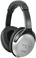 SH40VC STEREO HEADPHONES WITH VOLUME CONTROL Headphones with padded, flexible ea