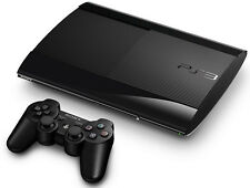 Sony PlayStation 3 Charcoal Black 12 GB Console  7 MONTH OLD 1 FREE GAME