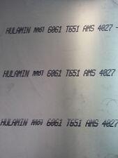 """ALUMINIUM PLATE / SHEET  6061-T6 3/8"""" x 24"""" x 24"""""""