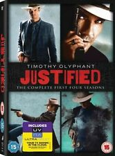 Justified - 1-4 - Complete (DVD, 2013, 12-Disc Set)