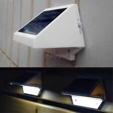 énergie solaire alimenté Jardin D'extérieur Lampe Clôture 4 LED Allées Mur Cour