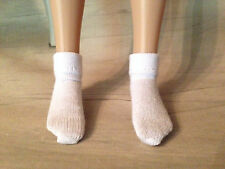 "1 Pr White Ankle Socks for  14"" Patience, 12"" Marley, or 12"" slim doll"