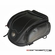 12L Microfiber Leather Luggage Saddle Bags Ideal for Triumph Motorcycles