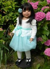 "Ari By Monika Levenig For Masterpiece Dolls ~ 34"" Asian Twin to Suri ~ Adorable!"
