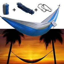 Travel Camping Outdoor us Nylon Fabric Hammock Parachute Bed for Double Person