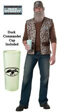 TV Show Duck Dynasty Commander Uncle Si Robertson Camo Tea Cup beard Costume