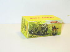 n35,  boite Jeep Willys porte fusées  militaire DINKY TOYS 828