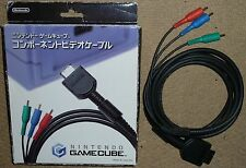 NINTENDO GAMECUBE GC Oficial Genuino componente HD TV AV Cable Adaptador De Plomo Raro